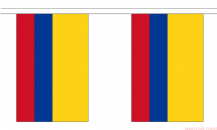 COLOMBIA BUNTING - 3 METRES 10 FLAGS